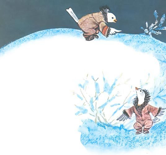 Птичка-пуночка. Чукотские и эскимосские народные сказки - i_001.jpg