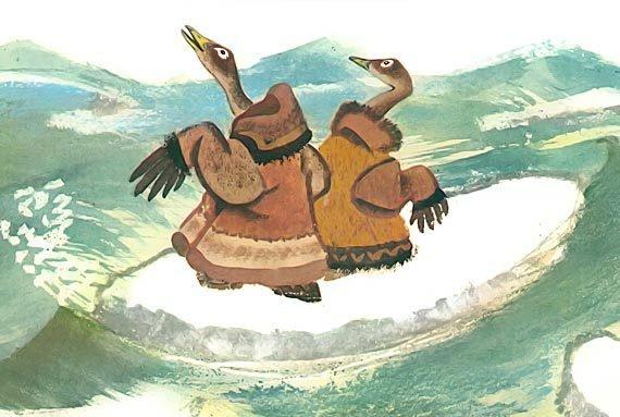 Птичка-пуночка. Чукотские и эскимосские народные сказки - i_003.jpg