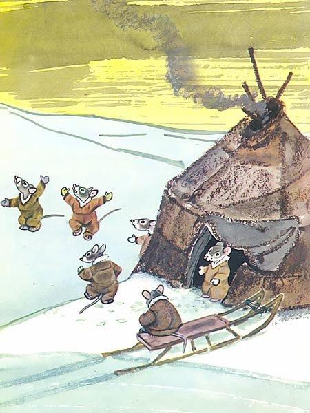 Птичка-пуночка. Чукотские и эскимосские народные сказки - i_005.jpg